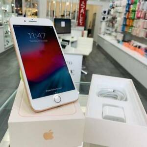 As New iPhone 8 plus 256gb Gold apple warranty tax invoice Surfers Paradise Gold Coast City Preview