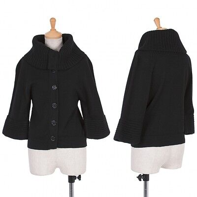 A/T(ATSURO TAYAMA) Wool knitted zip hoodies Size About M(K-51633)