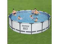 Bestway Steel Pro Max 15ft Pool Set Brand New ✅