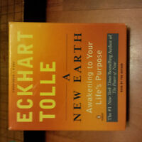 A New Earth - Eckhart Tolle  DVD Talking Book