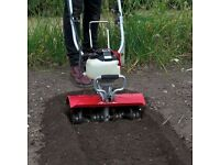 Rotavator and scarifier HIRE