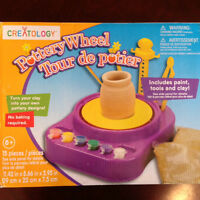 Kids Pottery Wheel - New in Box