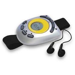 Jensen SAB-55A Audio Digital Am/Fm Stereo Armband Radio With Clock NEW