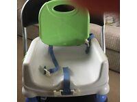 Adjustable child/baby seat
