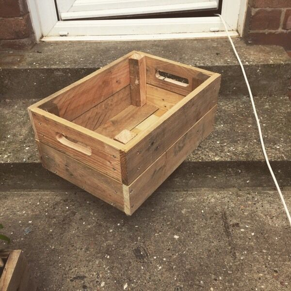 Vintage apple crate 9 each in lanchester county durham for Used apple crates