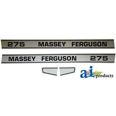 Decal Set To Fit Massey Ferguson 275