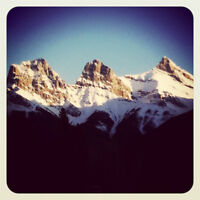 A Cozy Christmas in Canmore, Alberta: December 21 – 28th, 2014