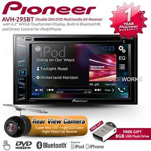 pioneer double din car stereo ebay. Black Bedroom Furniture Sets. Home Design Ideas
