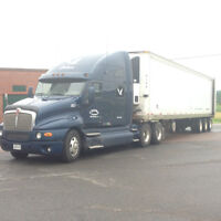 kenworth t2000 with tri axel reefer
