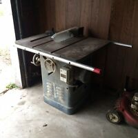 """Rockwell (10"""" Blade) Tablesaw"""