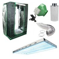 All-In-One Heavy Duty Kit 2x4 w HO T5 at BUSTAN.CA Hydroponics