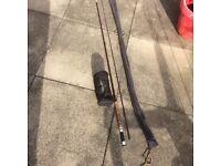 Fly fishing rod & reel