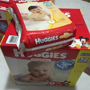 278 size 2 huggies diapers
