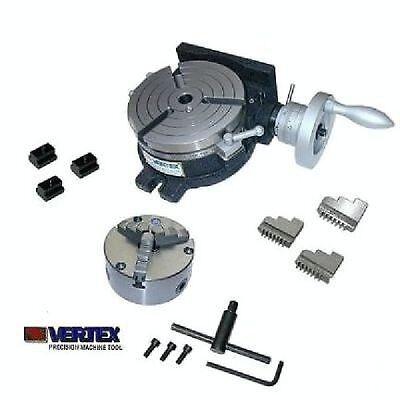 Teilapparat Rundtisch 150 mm + 130 mm 3B-Futter  Vertex