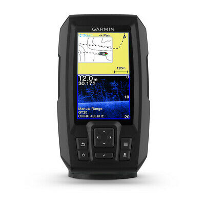 Garmin Striker Plus 4cv GPS Fishfinder Echolot mit ClearVü Farb-display Fishfinder