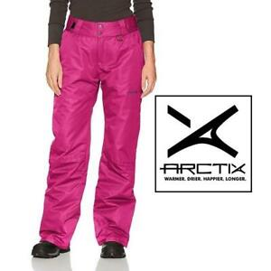 NEW ARCTIX SNOW PANTS WOMENS MED 1800 238842283 INSULATED ORCHID FUCHSIA