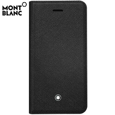 Montblanc Sartorial Saffiano Flip Leather Cover Case 116906 for Apple iPhone 7