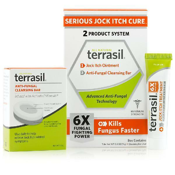Terrasil® Jock Itch Cure 2-Product Ointment and Antifungal