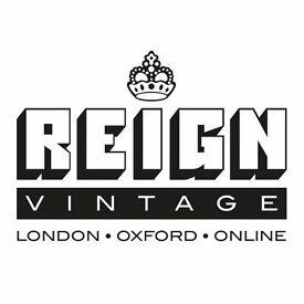 REIGN VINTAGE OXFORD - SALES STAFF REQUIRED