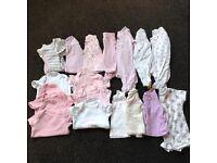 girls clothes bundle age 0-3 months
