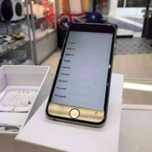 GOOD CONDITION IPHONE 6S 128GB SPACE GREY UNLOCKED TAX INVOICE Surfers Paradise Gold Coast City Preview