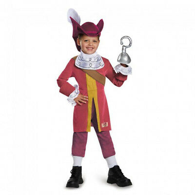 Disney Captain Hook Boys Toddler Deluxe Costume | Disguise 85599