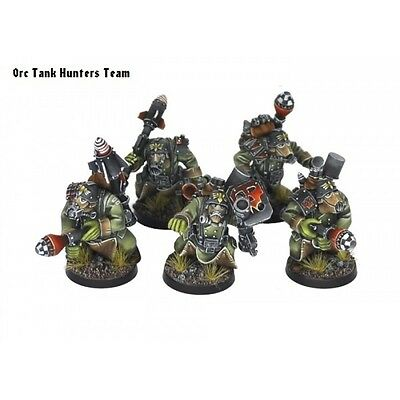 Kromlech BNIB Orc Tank Hunters Team (5)