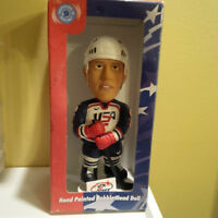 Bobbleheads -Raptors ,Toronto Rock,Team USA Hockey