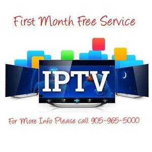 FREE 1 MONTH IPTV SERVICE WITH ANY IPTV BOX