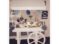 Gorgeous Candy cart hire rent for events