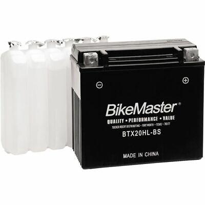 Bikemaster High Performance Maintenance Free Battery - BTX20HL-BS