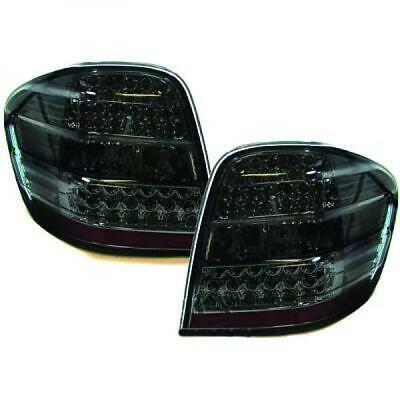 Rückleuchten Set für Mercedes M-Klasse W164 05-11 LED Klarglas/Schwarz