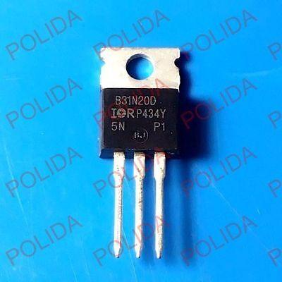 10pcs Mosfet Transistor Irirf To-220 Irfb31n20d Irfb31n20dpbf Fb31n20d B31n20d