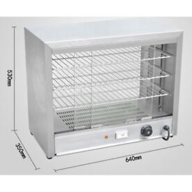 Electric Counter Top Heated Display Cabinet/Food Warmer/ P/Chicken Warm