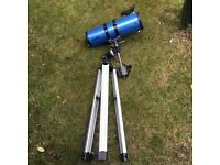 Sky watcher 150p/750mm on a EQ3 mount telescope
