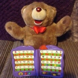 Interactive Childs teddy