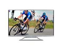 "Sharp 50"" ultra slim LED 3D Smart TV with Wifi & Freeview HD"
