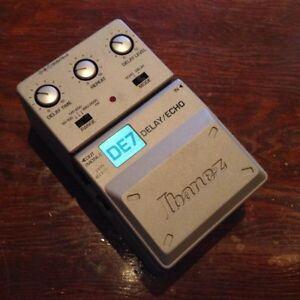 Ibanez DE-7 delay pedal