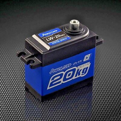 2075 Upgrade WATERPROOF METAL Gear DIGITAL SERVO 20KG Slash 4X4 Rustler