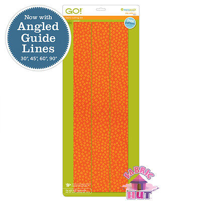 """Accuquilt GO! Fabric Cutter Die 2 1/2"""" Strip Quilt Sew 55017"""
