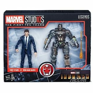 Marvel Studios Iron Man 2 pack - Tony Stark and Iron Man Mark I