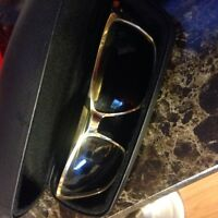 Gold sunglasses Oakleys