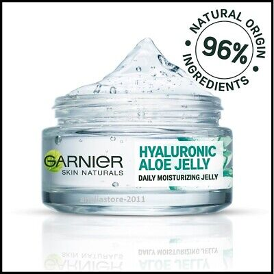 Aloe Jelly (Garnier Hyaluronic Aloe Daily Moisturizing Jelly 48h Hydration the Skin  50 ml)