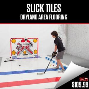 Hockey Tiles - Dryland Synthetic ice