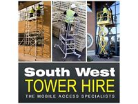 Aluminium Scaffold Tower Hire in Bath & Bristol - South West Tower Hire