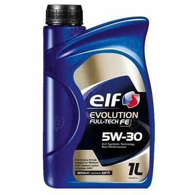 OLIO MOTORE ELF EVOLUTION FULL TECH FE 5W30 (ex Solaris) Lt.1 ACEA C4 C3 RN0720