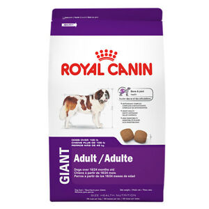 Dry Dog Food Royal Canin 35lb Adult Giant