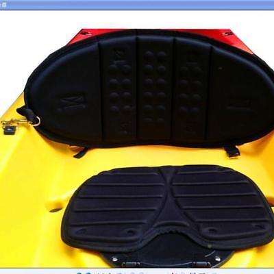 Black Premium Kayak Canoe Boat High Back Seat Backrest Support -