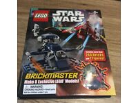 Star Wars Lego with book