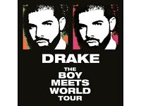 DRAKE STANDING TICKETS X4, TONIGHT BIRMINGHAM